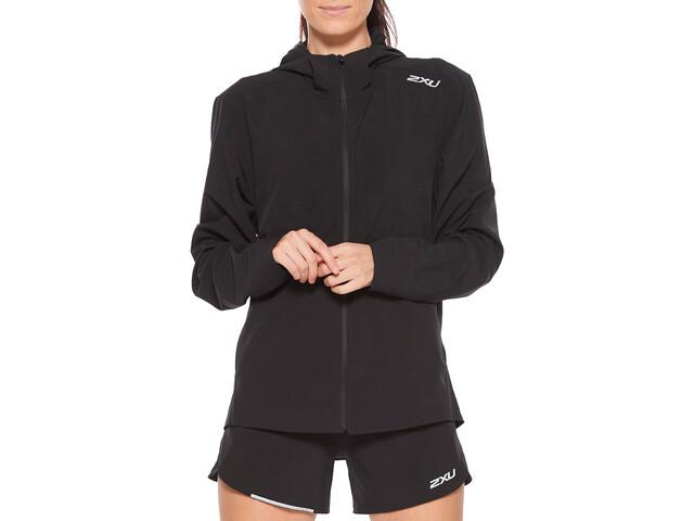 2XU XVENT Run Jacket Women, black/silver reflective